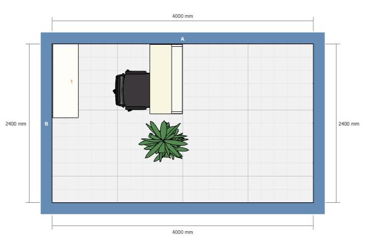 リビングや寝室に「ミニ書斎コーナー」を作るレイアウト(その1)